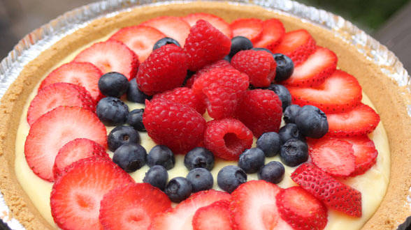 10 Minute Fruit Tart