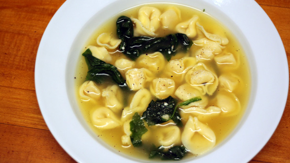 5 Ingredient Meal: Tortellini Soup