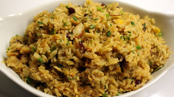 Almond-Cranberry-Orange Rice Pilaf