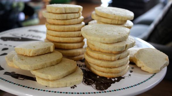 Almond Sablé Cookies