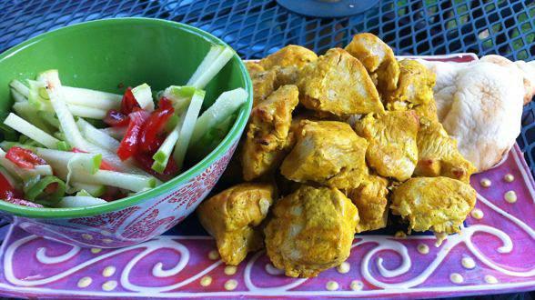 Almost Tandoori Chicken