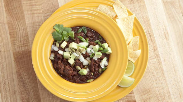 Ancho Beef Chili
