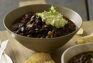 Ancho-Black Bean Chili