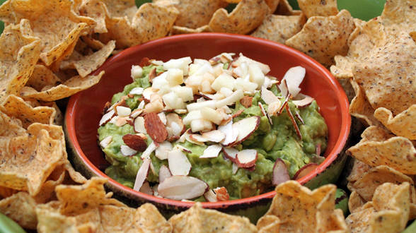 Apple and Almond Guacamole