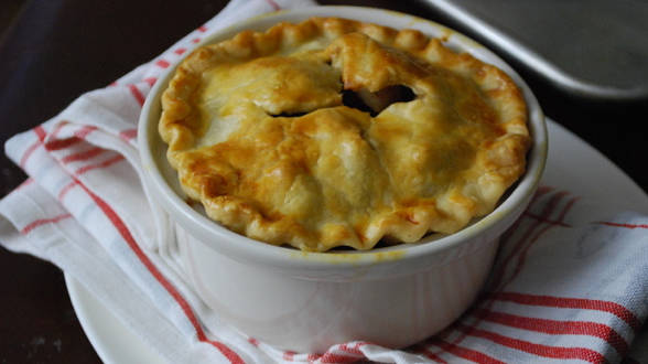 Apple Pot Pies