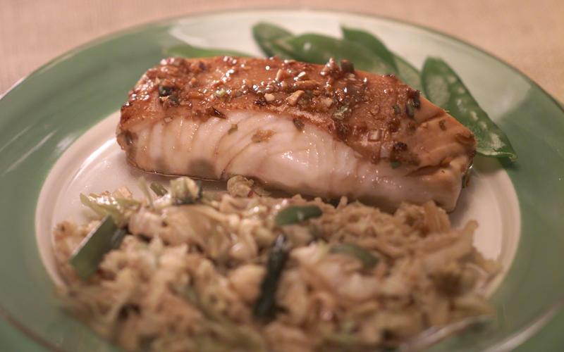 Asian Broiled Fish