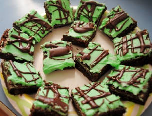 Aunt Missy's Mint Brownies