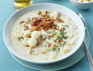 Bacon and Crab Chowder