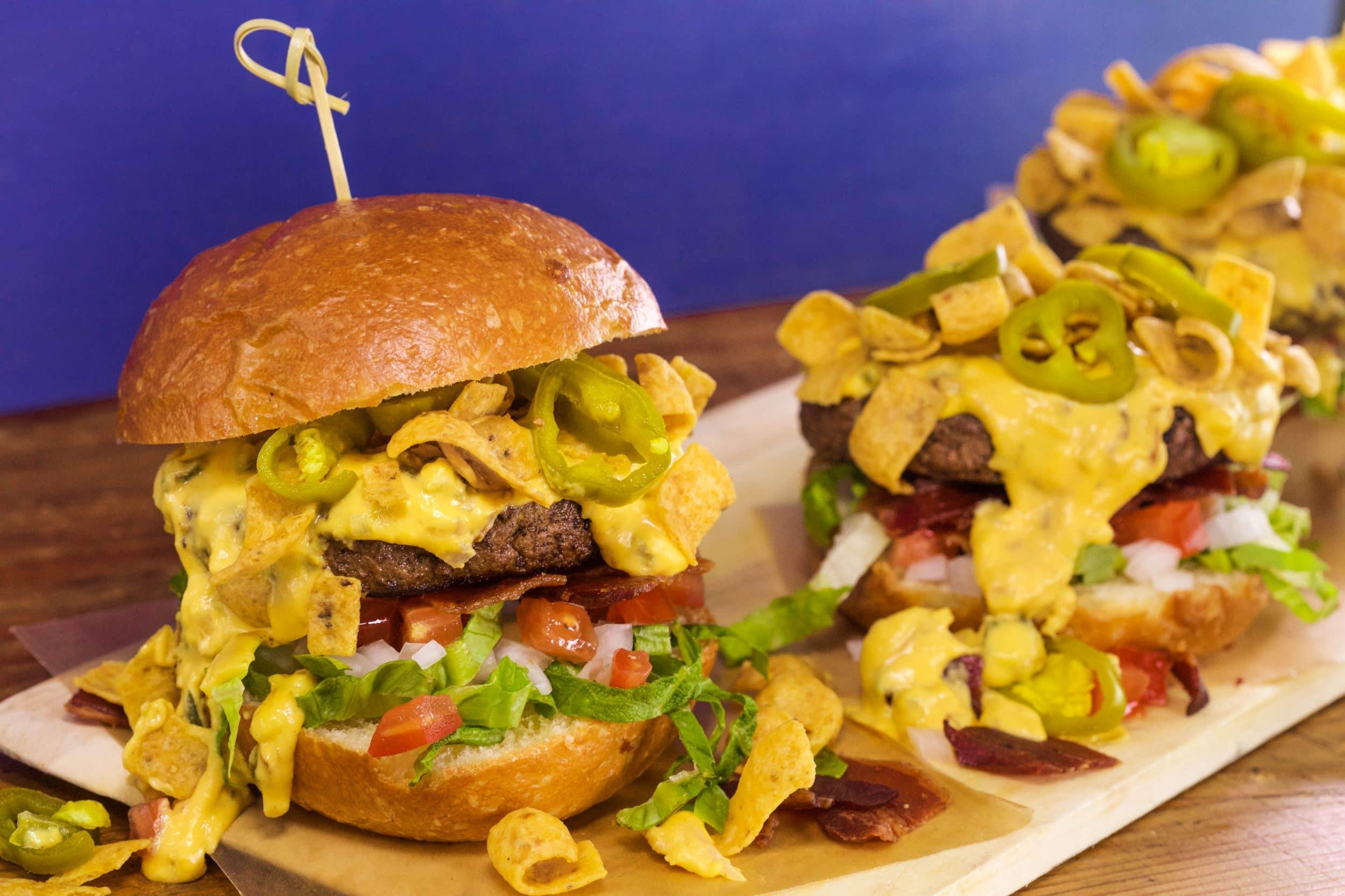Bacon-Queso Burger