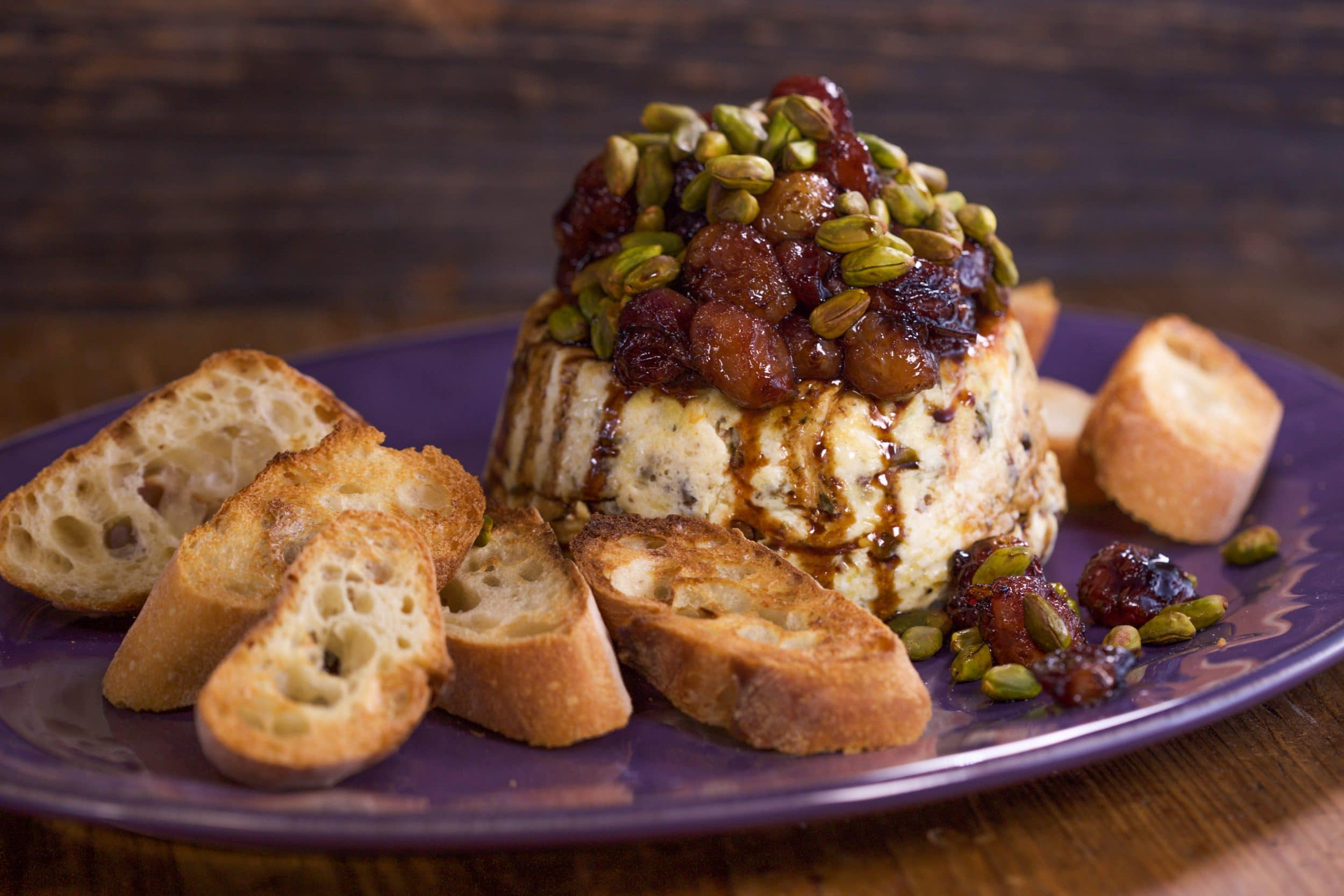 Baked Ricotta with Pistachios