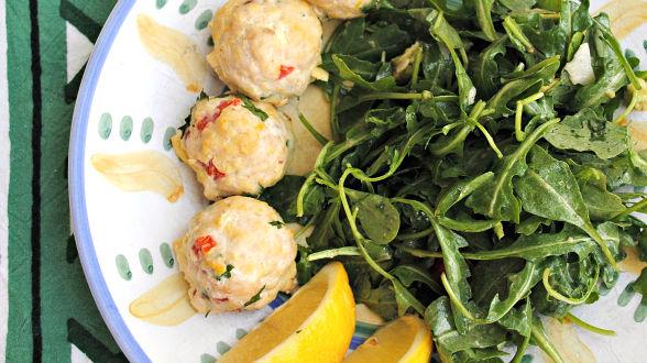 Baked Swordfish Meatballs
