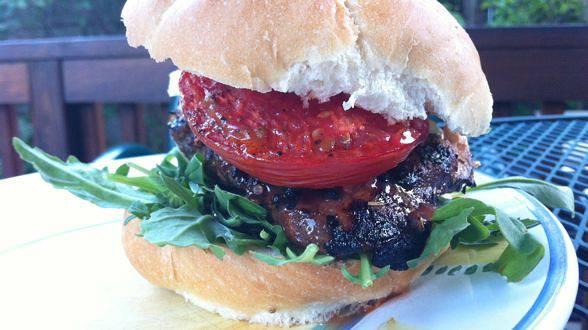 Balsamic-Glazed Smoky Chicken Caprese Sandwiches