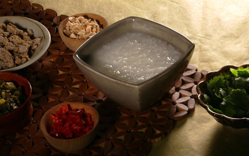 Basic rice congee
