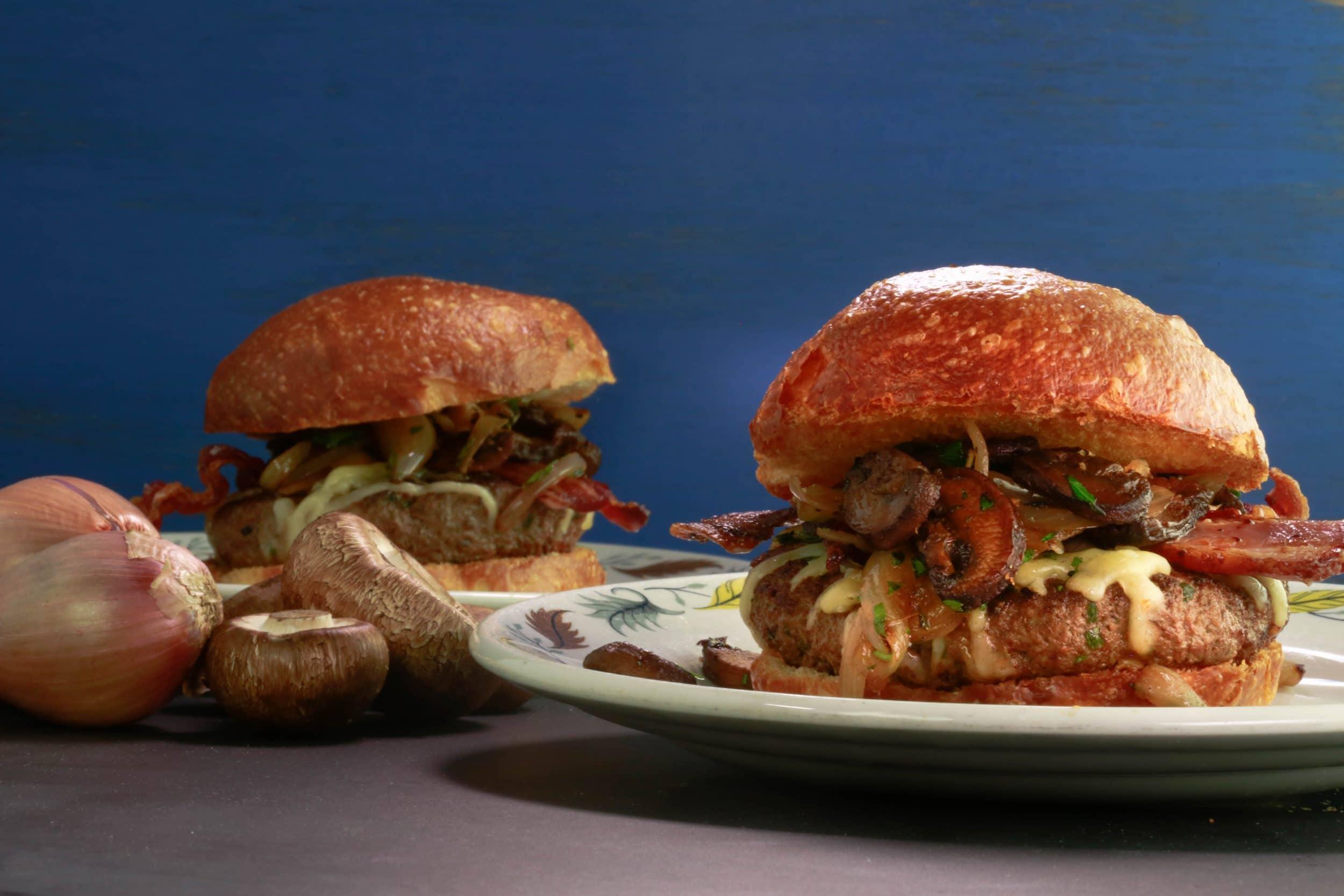 Beef & Burgundy Burger