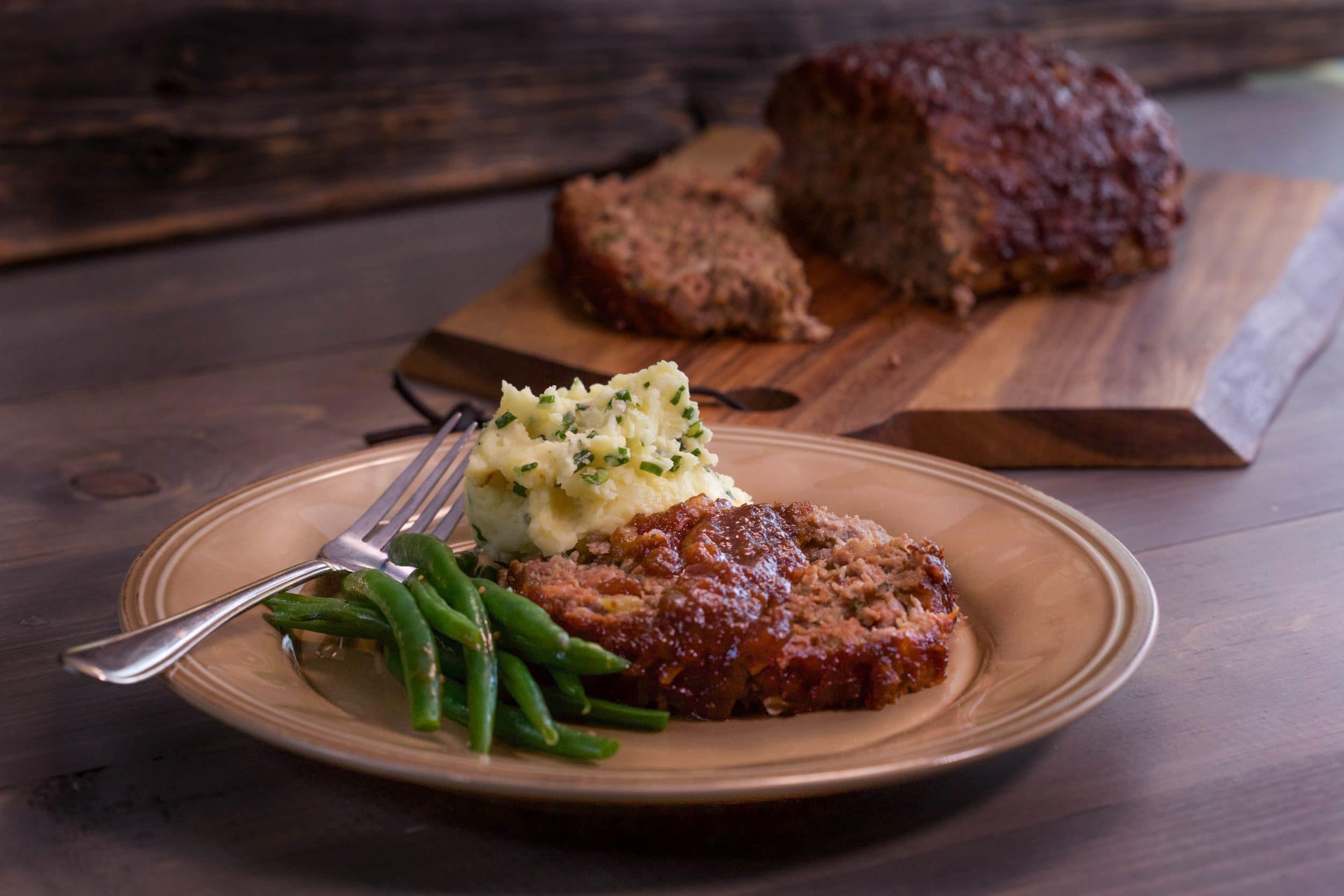 Beef and Bacon Meatloaf