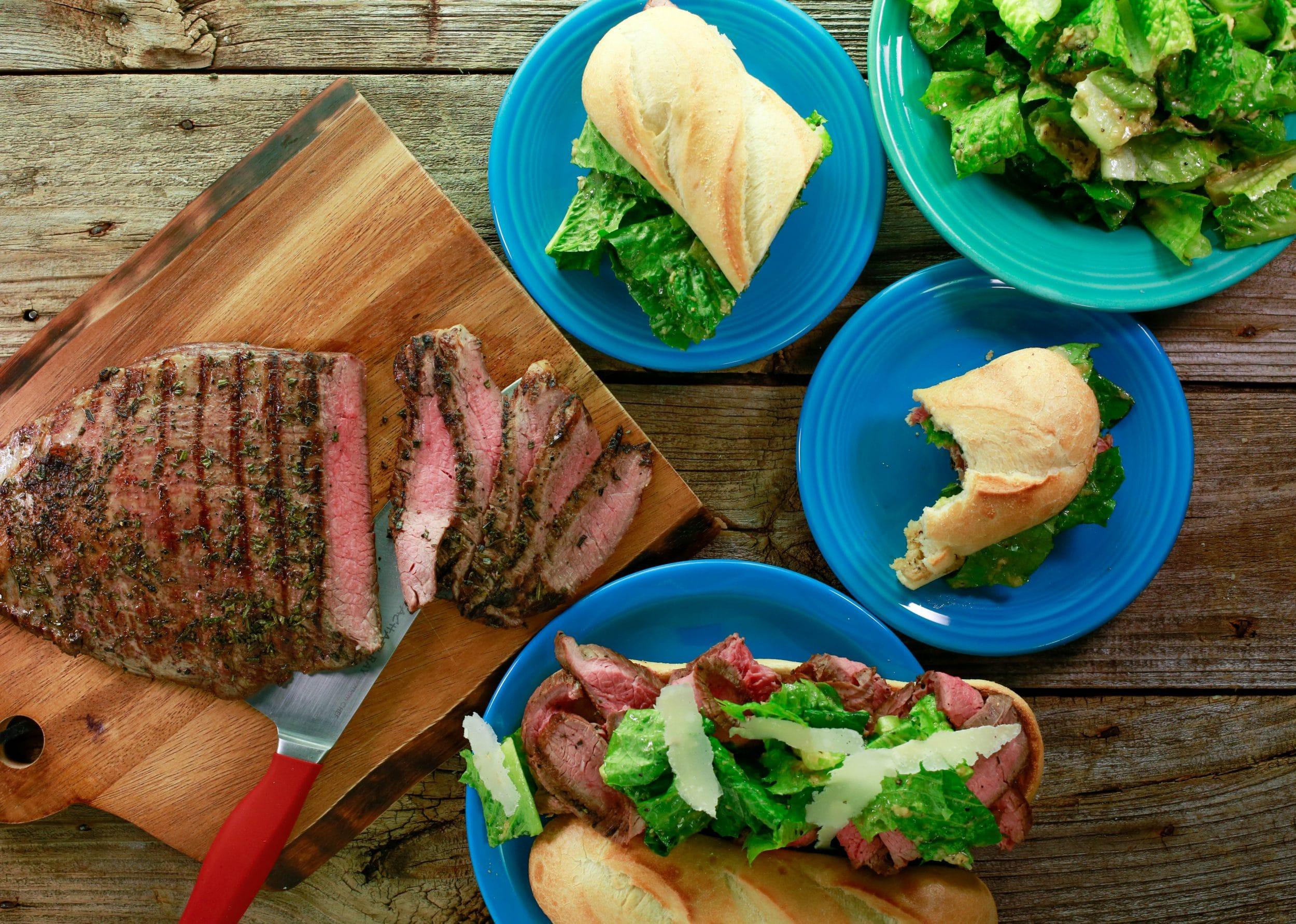 Beef Brutus Sandwiches