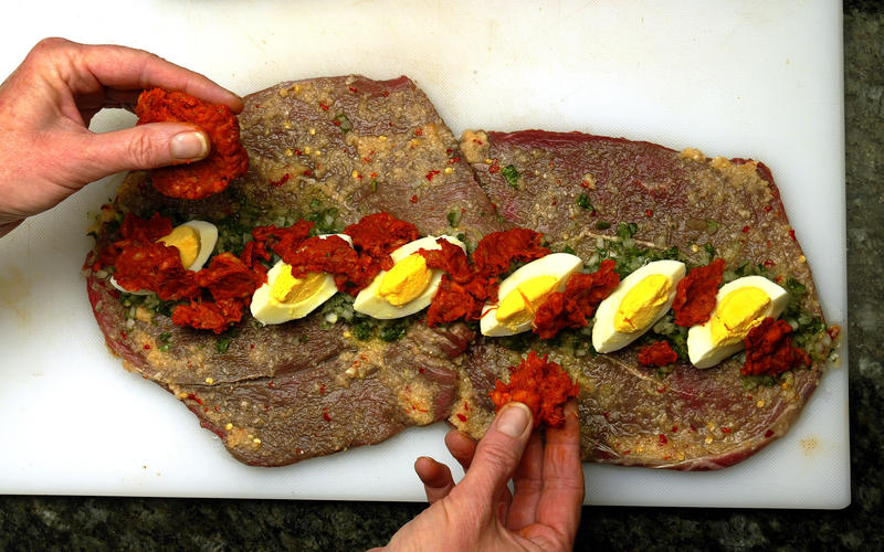 Beef rolls