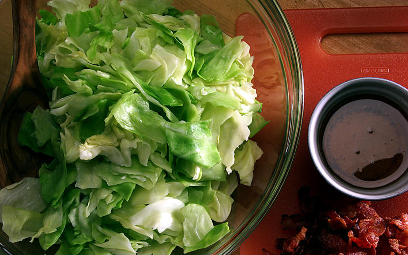 Blanche's Cabbage With Bacon