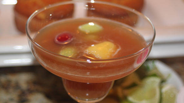 Bloody Cider Punch