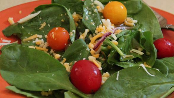 Bottom-of-the-Salsa-Jar Salad Dressing