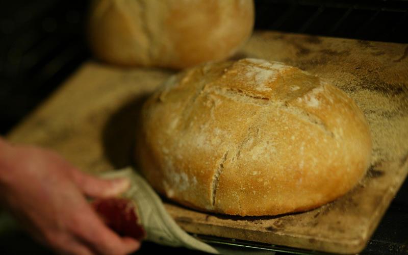 Brick oven-style bread