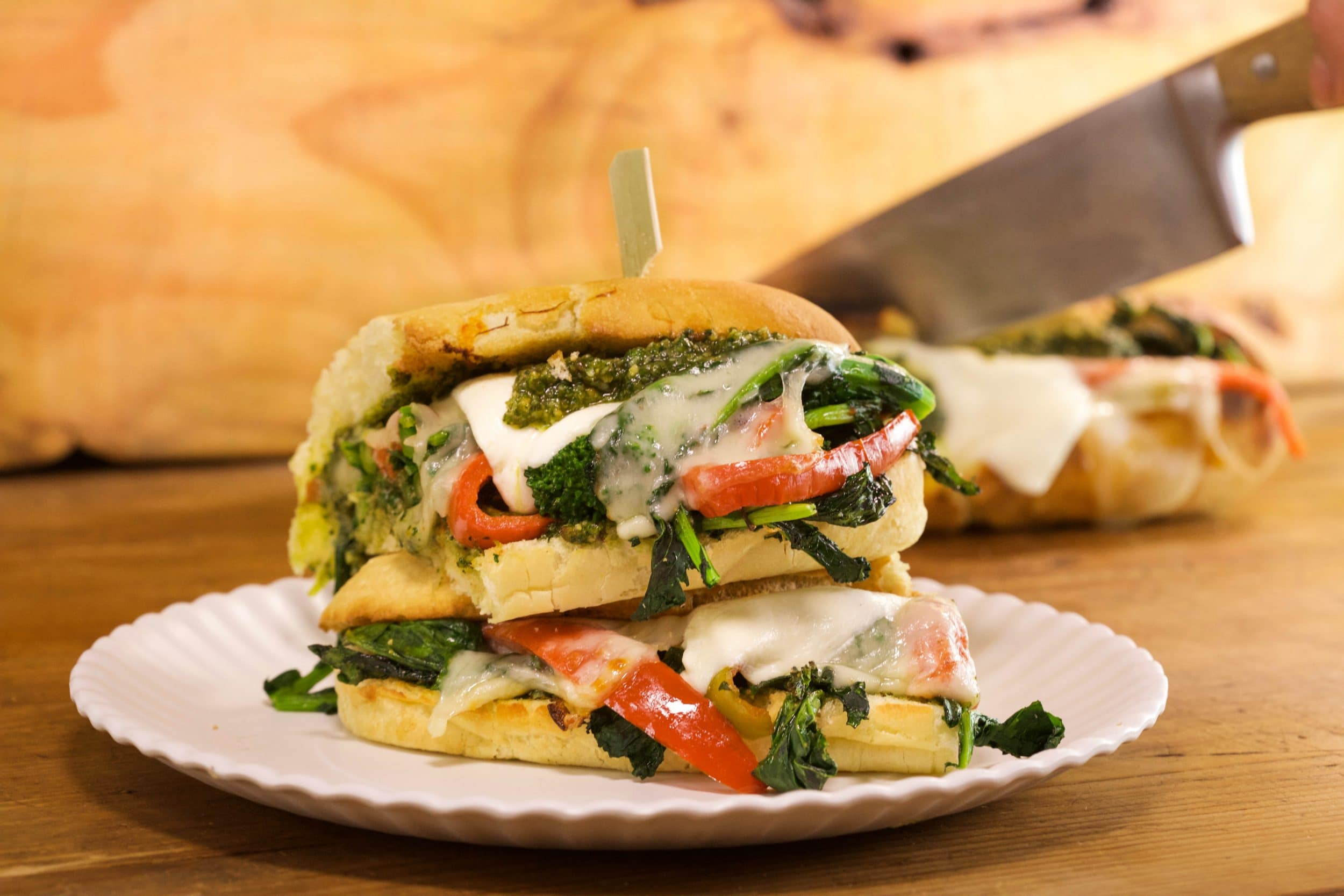 Broccoli Rabe Hoagies