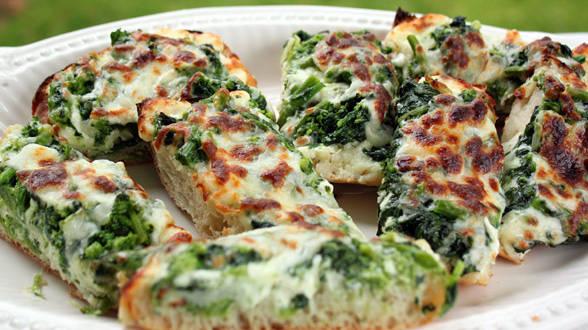 Broccoli Rabe Pizza Bread