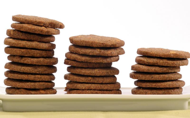 Buckwheat sugar cookies