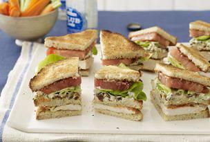 Buffalo Club Sandwiches