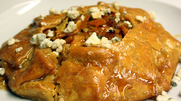 Butternut and Apple Galette