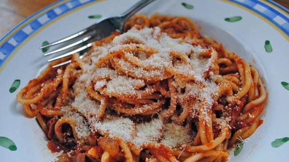 Buttery Tomato Spaghetti