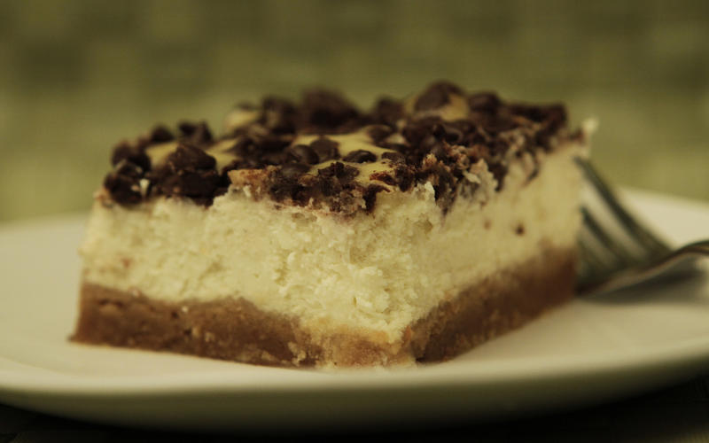 Canter's chocolate cheesecake
