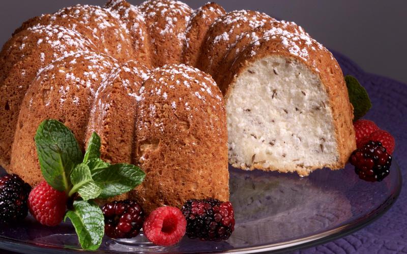 Caraway Bundt Cake