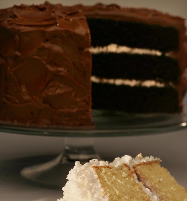 Celestial chocolate cake