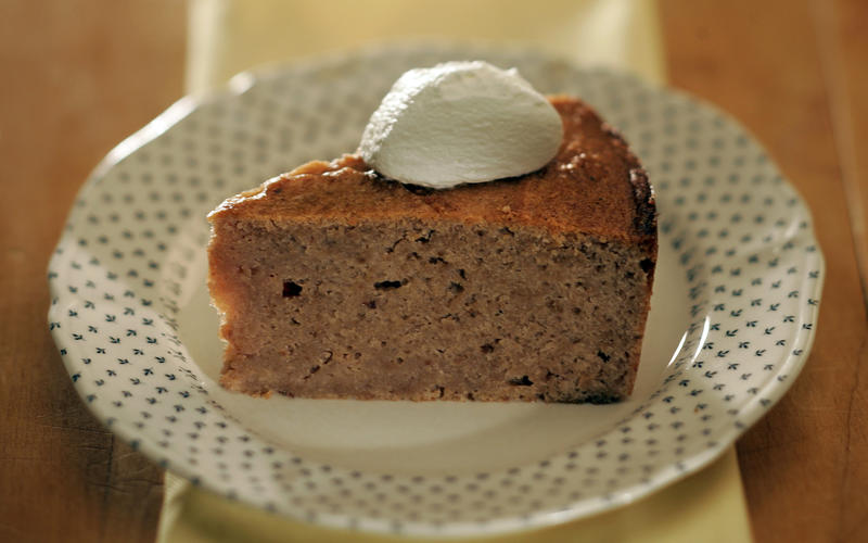 Chestnut cake (gateau de marrons)