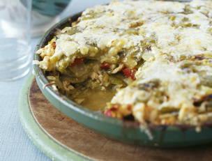 Chicken Tortilla Pie