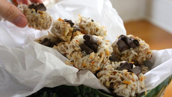 Chocolate-Coconut Thumbprints