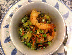 Citrus-Soy Chicken, Pork or Shrimp Stir Fry