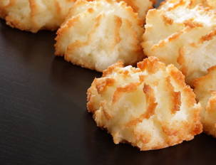 Coconut and Chocolate Macaroons