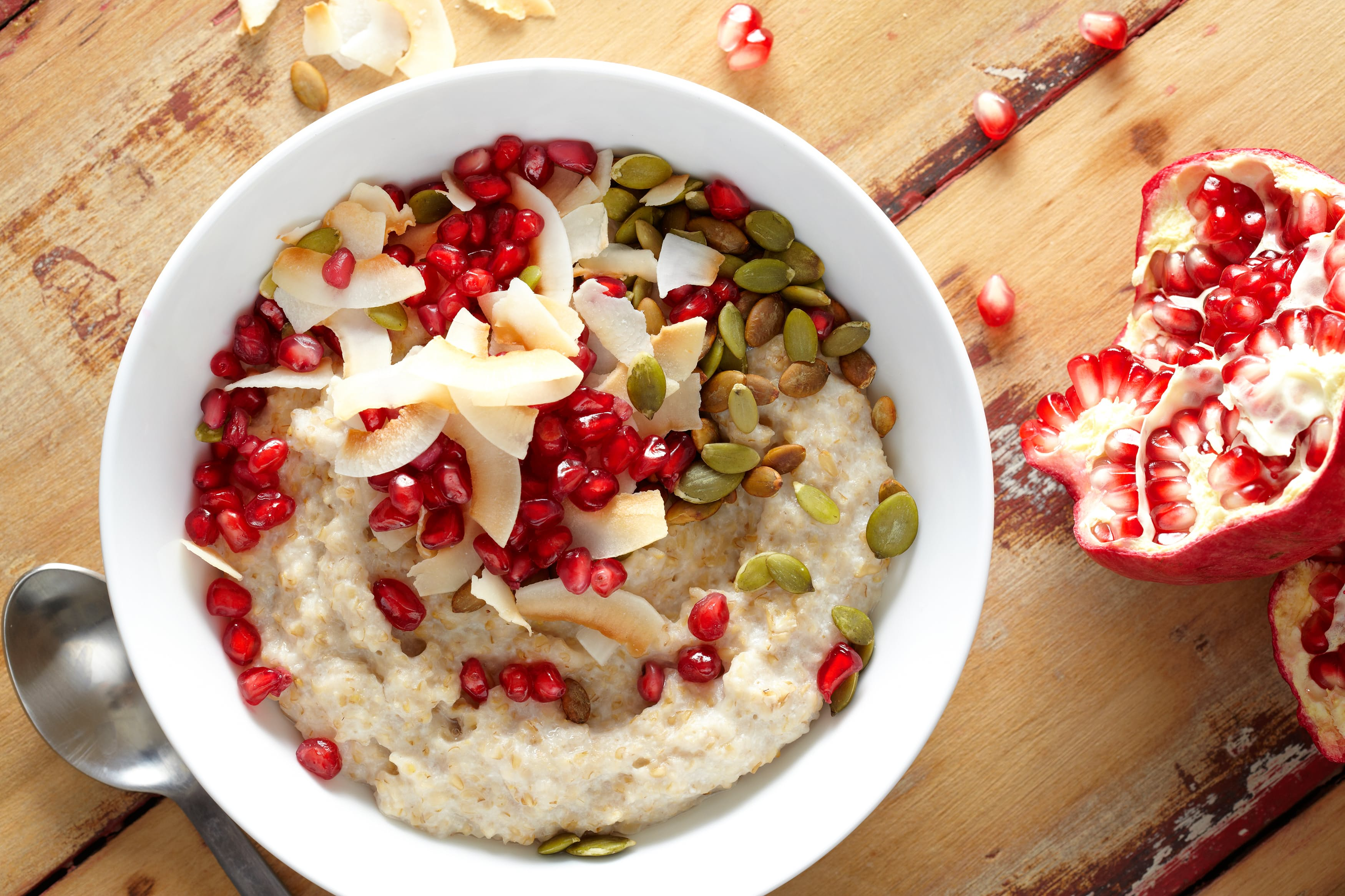 Coconut and Ginger Oatmeal