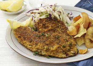 Crackers-and-Parmesan-Crusted Fish Fillets