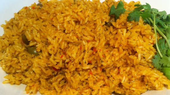Crispy-Bottomed Yellow Rice