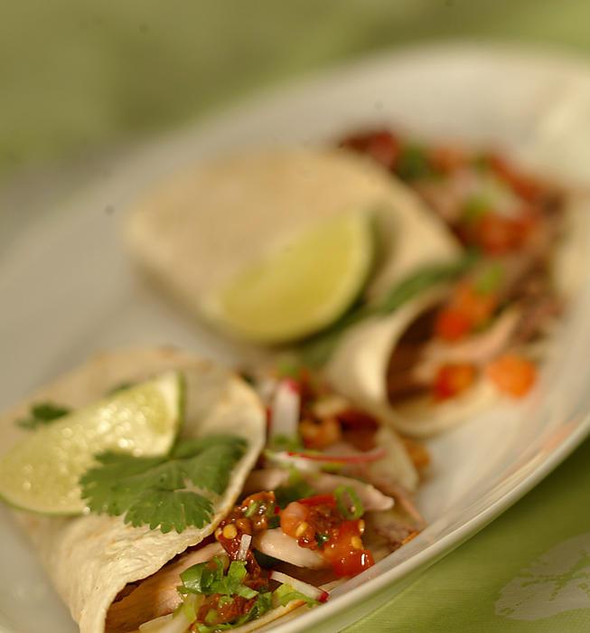Duck tacos