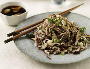 Figure-Friendly Soba Dipping Noodles