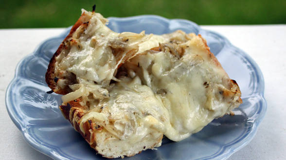French Bread Pissaladière