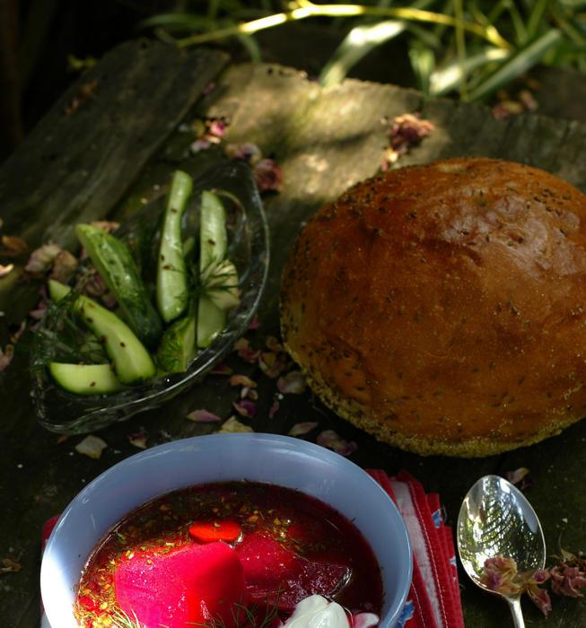 Garden borscht