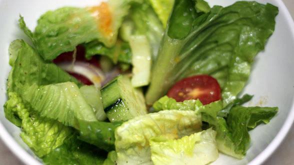 Garden Salad with Orange-Dijon Vinaigrette