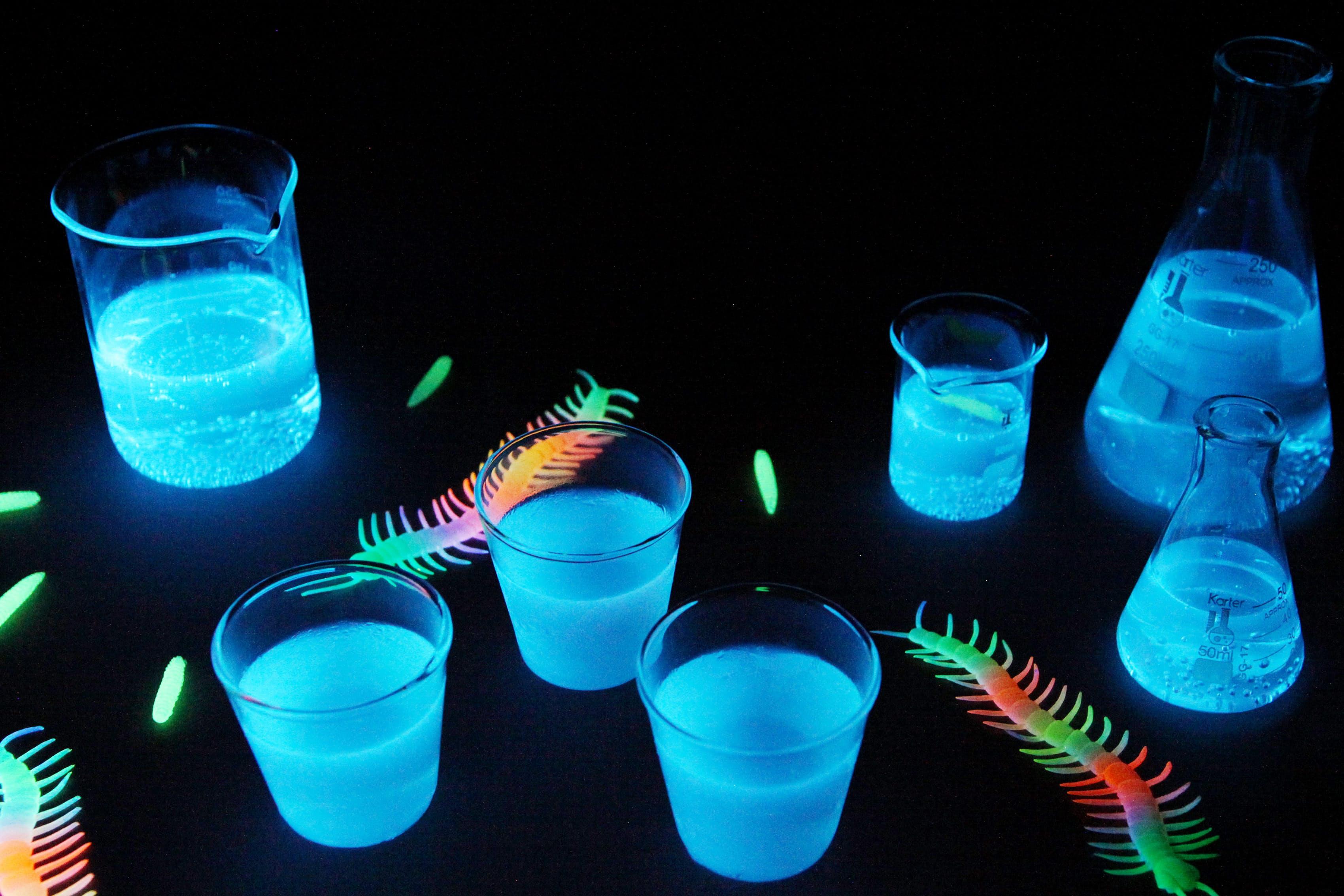Glow-in-the-Dark Jello Shots