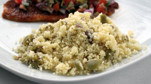 Green Olive Couscous