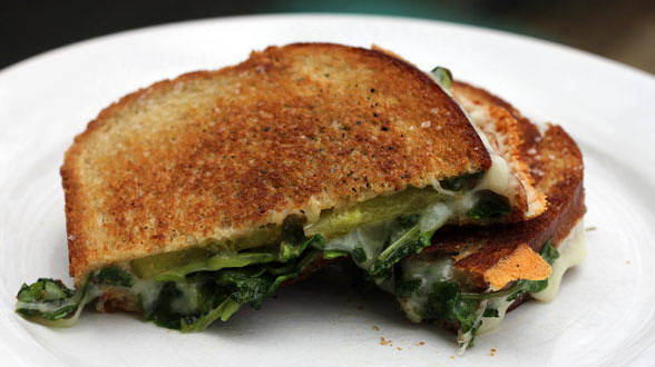 Grilled Cheese and Watercress